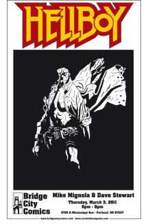 Mike Mignola Signing Event